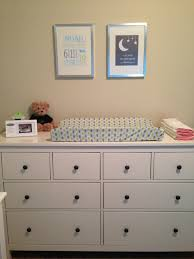 Decorating Dresser Top by Changing Table Dresser Topper