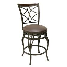 chelsea bar stool shop oil rubbed bronze 25 in counter stool at lowes com