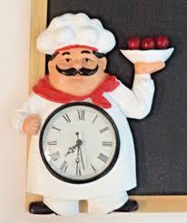 Chef Kitchen Decor by Tag For Fat Chef Kitchen Clocks Nanilumi