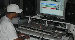 Studio Production Desk by Music Production Studio Desk