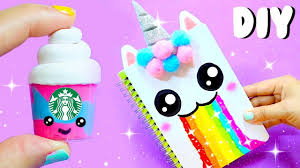 diy unicorn supplies for back to 2017 part 1