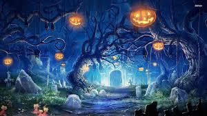halloween free wallpaper halloween scenery wallpaper