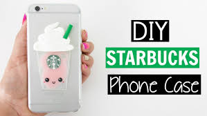 diy liquid starbucks phone case fav pinterest starbucks