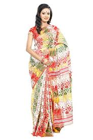 bangladeshi jamdani saree b3fashion indian handloom traditional beige colored dhakai jamdani