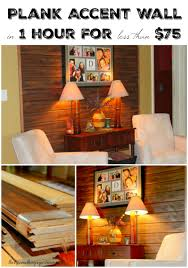 diy wall decor wood plank accent wall thirtysomethingsupermom