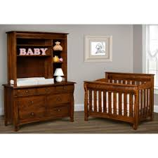 Solid Wood Convertible Crib Caspian 4 In 1 Convertible Baby Crib Made In Usa Baby Eco Trends