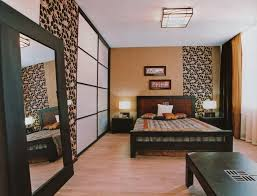 amazing home interior interior amazing bed room interior design with pattern wall idea