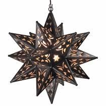 punched tin lighting fixtures mexican hanging star lights punched tin moravian star fixtures