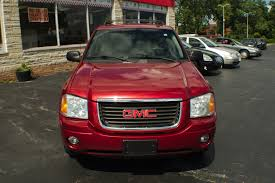 red jeep liberty 2005 2005 gmc envoy red 4x4 sport suv used car sale