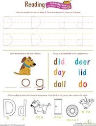 8 best letter d worksheets images on pinterest abc worksheets