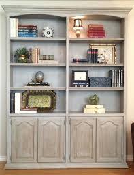 Annie Sloan Painted Bookcase Bookcase Dark Wood Bookcase With Glass Doors Dark Wood Bookcase