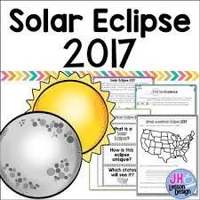 solar eclipse 2017 teaching resources teachers pay teachers