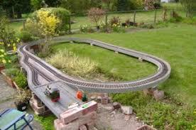 Garden Railway Layouts The Itinerant Railway Garden Railway Club