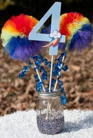 Rainbow Centerpiece Ideas by Pin By Deborah Fowler Kyle On Happy Birthday To You Pinterest