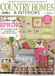 country homes and interiors uk in the press our sofa is april s front cover in country