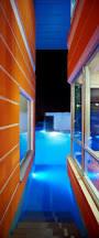 Modern Home Lighting Design Ultramodern Orange House Takes Home Lighting To Extreme