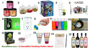 Stocking Ideas by 15 Incredible Stocking Stuffer Ideas 2015 Rural Mom Holiday