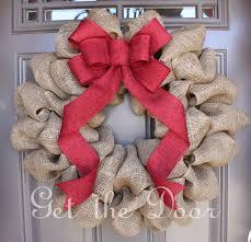 burlap christmas wreath burlap christmas wreath is a idea create door decor