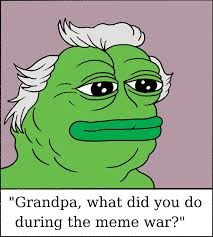 Pepes Memes - grandpa pepe the great meme war of 2016 rebrn com
