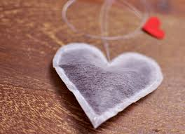 kitchen diy crafts heart shapes teabags
