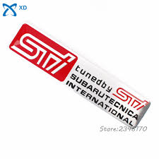 subaru rsti badge popular subaru sti 12 buy cheap subaru sti 12 lots from china