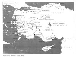 A New Map Of Jewish by Jews In Greece 02 Bible And Roman Times Encyclopaedia Judaica