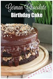german chocolate birthday cake say grace