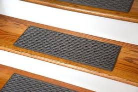 washable non skid rubber back stair treads