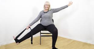 Armchair Exercises For The Elderly Dvd Exercise The Gentle Way With Chair Yoga For Seniors