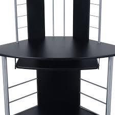 Tower Corner Desk Tower Corner Computer Desk Best Spray Paint For Wood Furniture