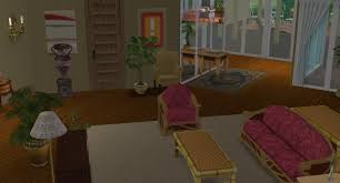 mod the sims the golden girls house no cc vintage month
