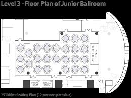 Cake Shop Floor Plan by Capacity Chart U0026 Floor Plan U2013 Royal Plaza Hotel