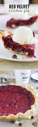 red velvet cookie pie taste and tell