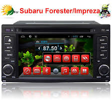 subaru forester 2017 red 2018 2 din car dvd player for subaru forester impreza android car