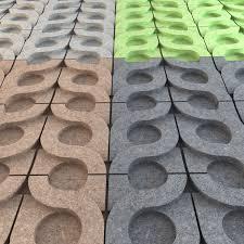 kaza concrete vine 3d wall tiles cgtrader
