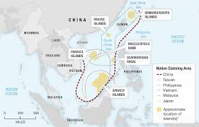 Spratly Islands Map In South China Sea Islands Anti Aircraft And Radar Systems Emerge