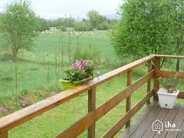 gîte self catering for rent chalet in doucier iha 15352