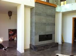 mode concrete contemporary concrete fireplace tiles are all the