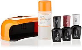 gel nail light sally s beauty amazon com sally hansen salon pro gel starter kit wine not nail