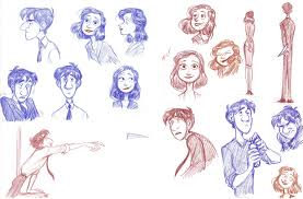 paperman sketches 1 by bonka chan d5kqqzm heidi elliott design