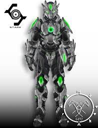 req crysis iron destiny titan cryo ornament by