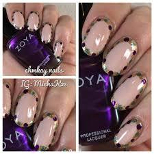mardi gras nail ehmkay nails mardi gras nail show us your