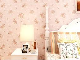 pink wallpaper for walls pastoral style bedroom with pink flower wallpaper download 3d house