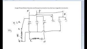 wiring diagram wiring diagram for reversing single phase motor