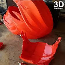 3d printable model red ranger helmet armor