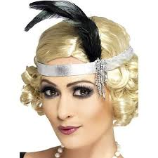 1920s headband buy silver 1920s headband with feather in cheap price on alibaba