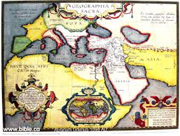 Map Of Persian Gulf Exodus Route Maps Old Ancient Antique Vintage And Modern Maps
