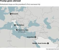 Washington traveling abroad images After israel trump heads to rome here 39 s what you can expect jpg