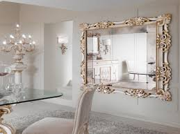 Tall Wall Mirrors by White Decorative Wall Mirror Shenra Com