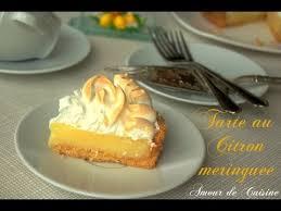 amoure de cuisine recette facile de la tarte au citron meringuée